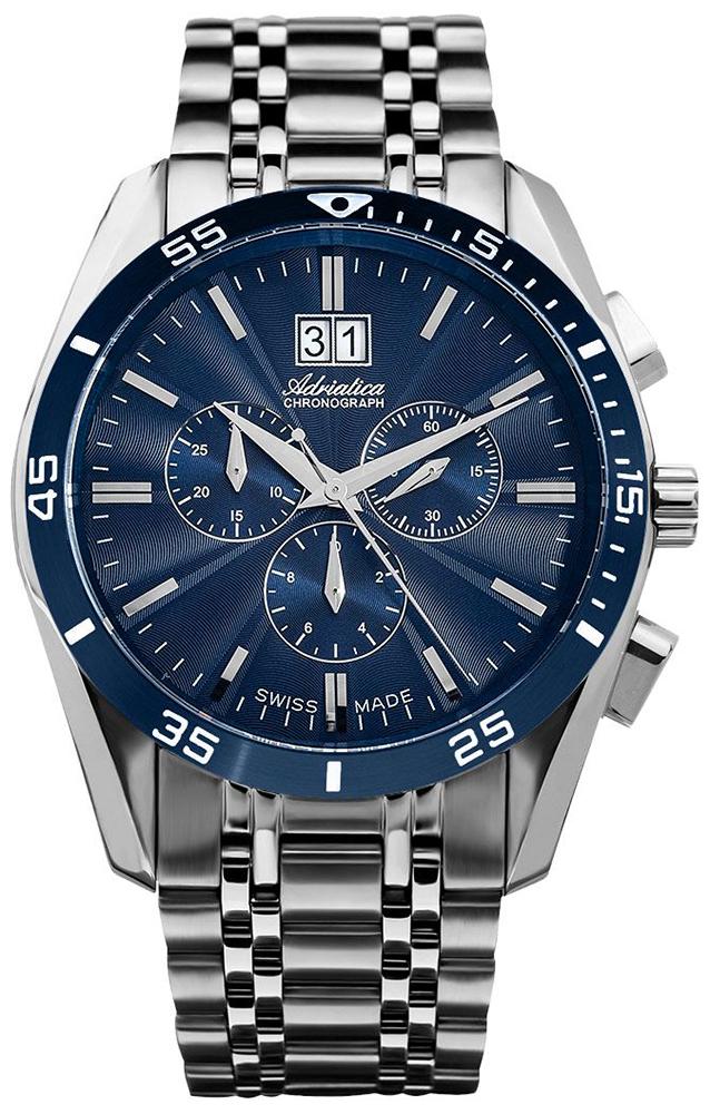 Adriatica A8202.T115CH - zegarek męski