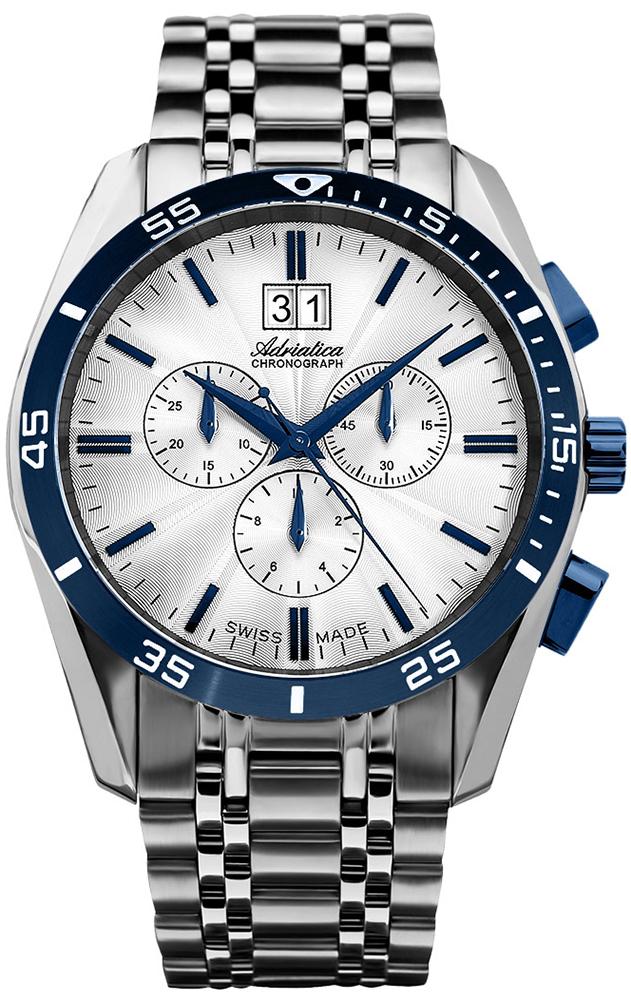 Adriatica A8202.T1B3CH - zegarek męski