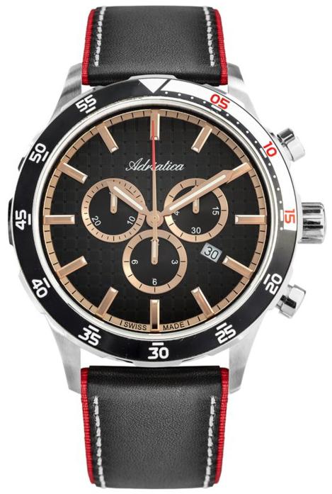 Adriatica A8247.R214CH - zegarek męski