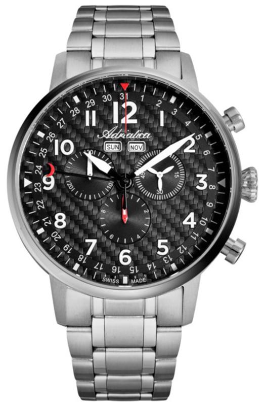 Adriatica A8308.4124CH-SET - zegarek męski