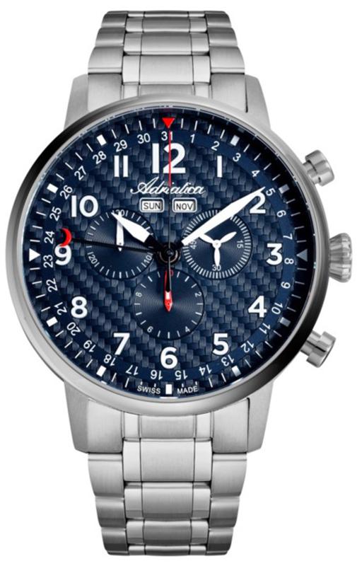 Adriatica A8308.4125CH-SET - zegarek męski