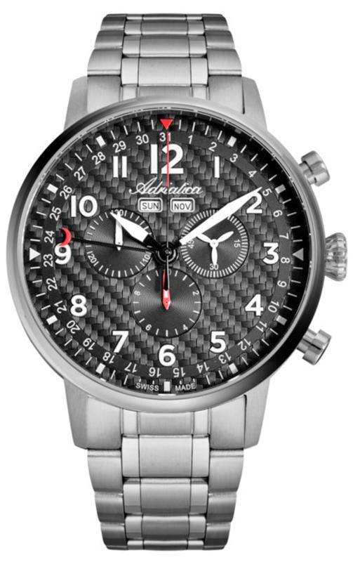 Adriatica A8308.4126CH-SET - zegarek męski