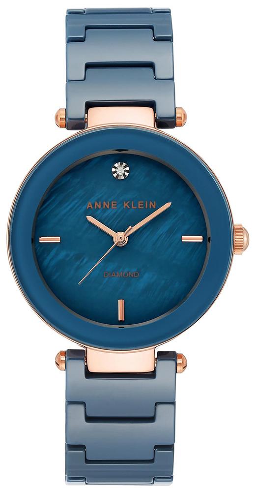 Anne Klein AK-1018BLRG - zegarek damski