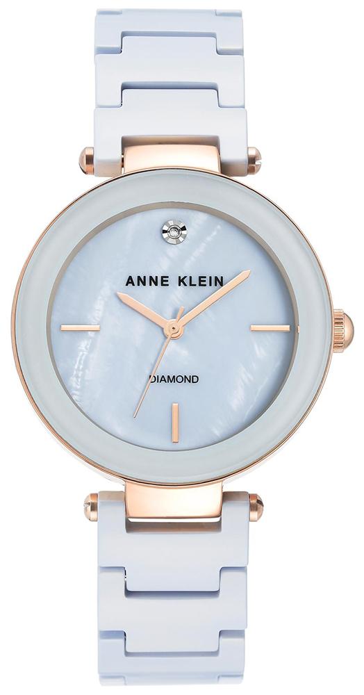 Anne Klein AK-1018LBRG - zegarek damski