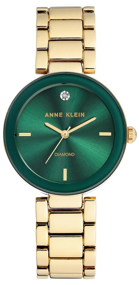 Anne Klein AK-1362GNGB - zegarek damski