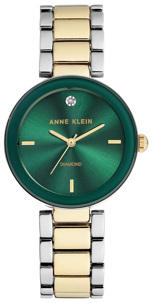 Anne Klein AK-1363GNTT - zegarek damski