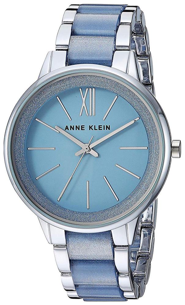 Anne Klein AK-1413LBSV - zegarek damski