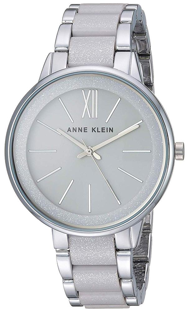 Anne Klein AK-1413LGSV - zegarek damski