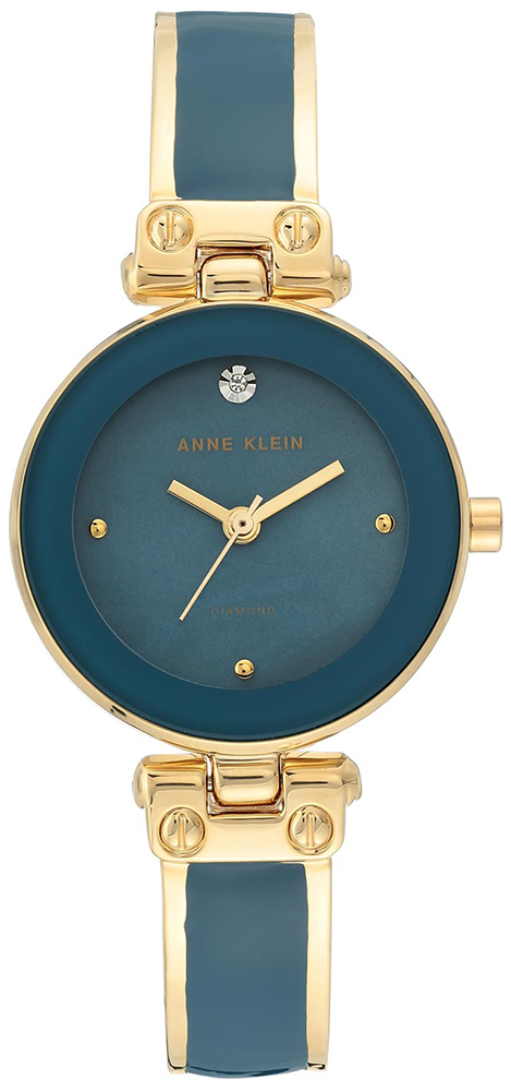 Anne Klein AK-1980BLGB - zegarek damski