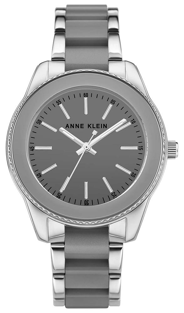 Anne Klein AK-3215GYSV - zegarek damski
