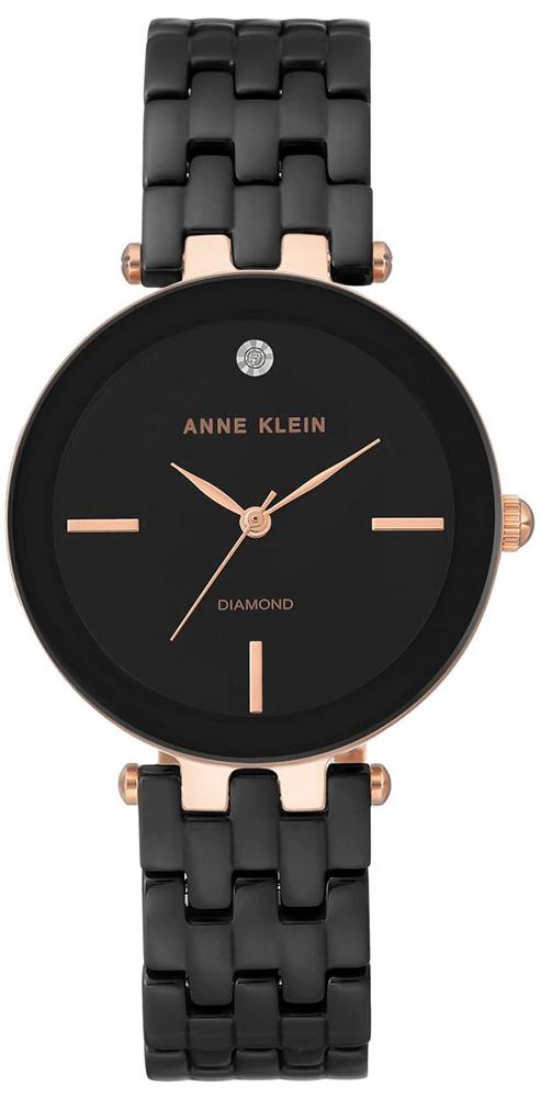 Anne Klein AK-3310BKRG - zegarek damski