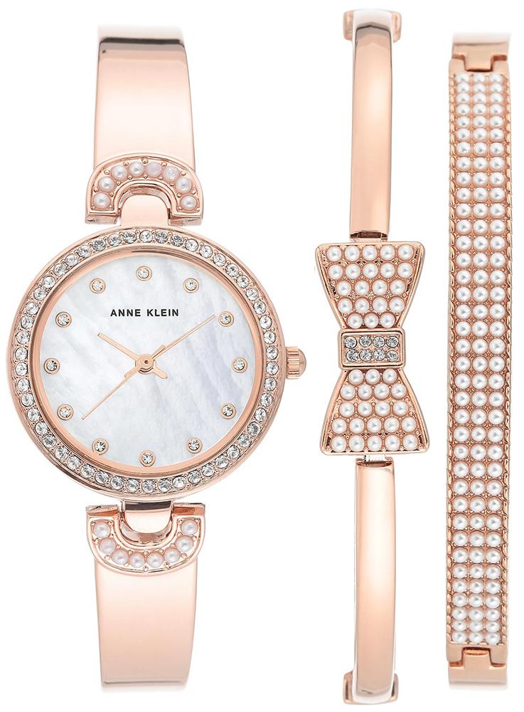 Anne Klein AK-3466RGST - zegarek damski