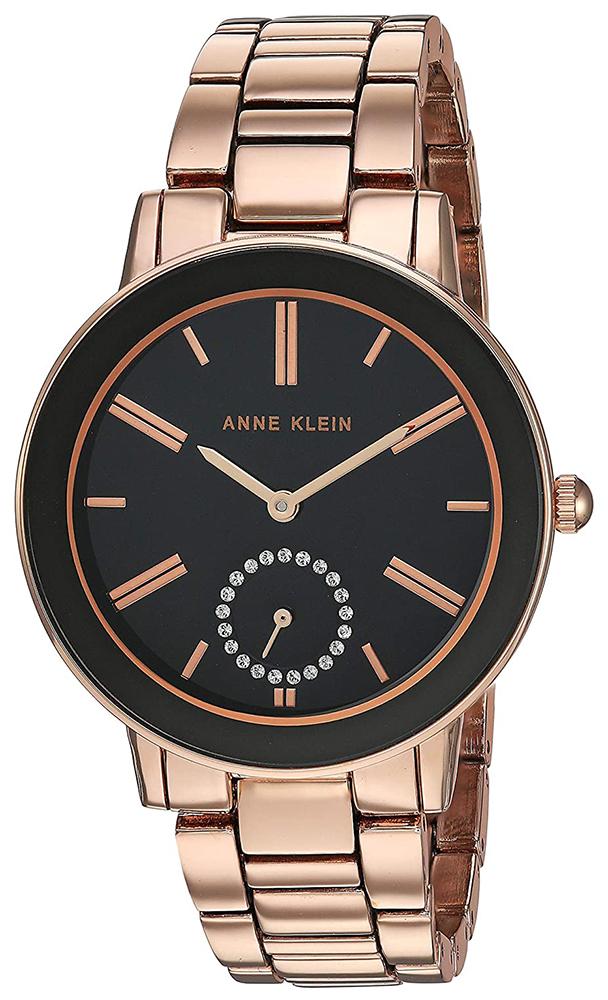 Anne Klein AK-3484BKRG - zegarek damski