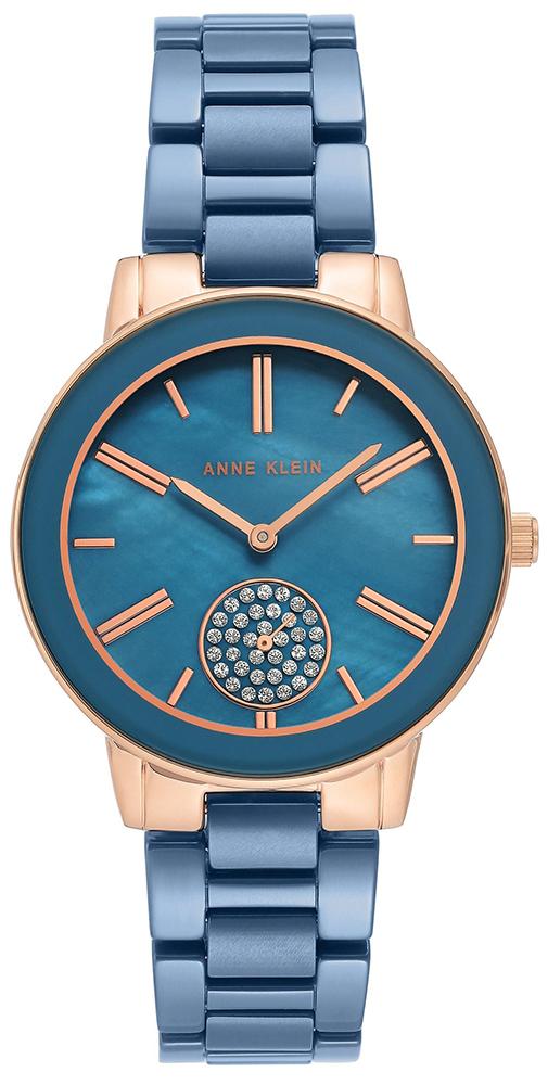 Anne Klein AK-3502BLRG - zegarek damski