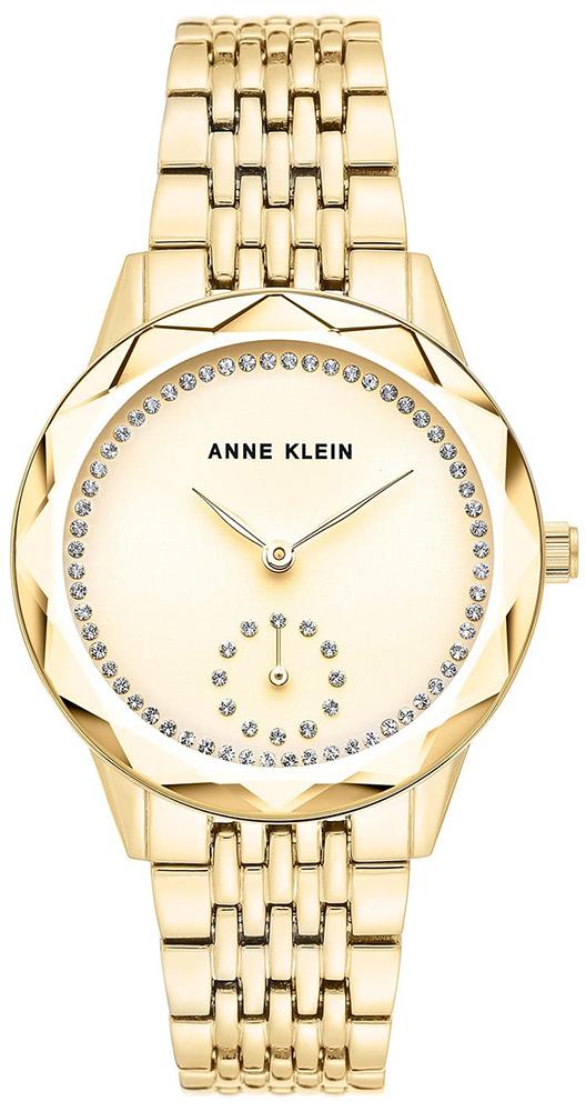 Anne Klein AK-3506CHGB - zegarek damski