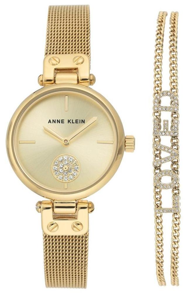 Anne Klein AK-3552GBST - zegarek damski