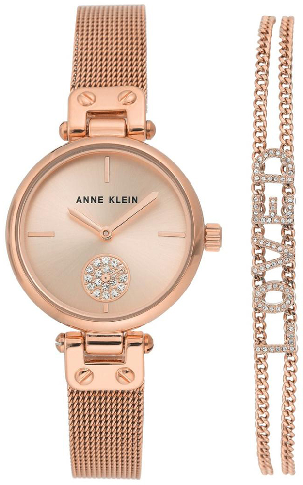 Anne Klein AK-3552RGST - zegarek damski