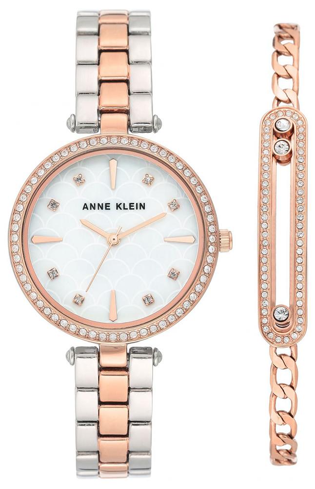 Anne Klein AK-3559RTST - zegarek damski