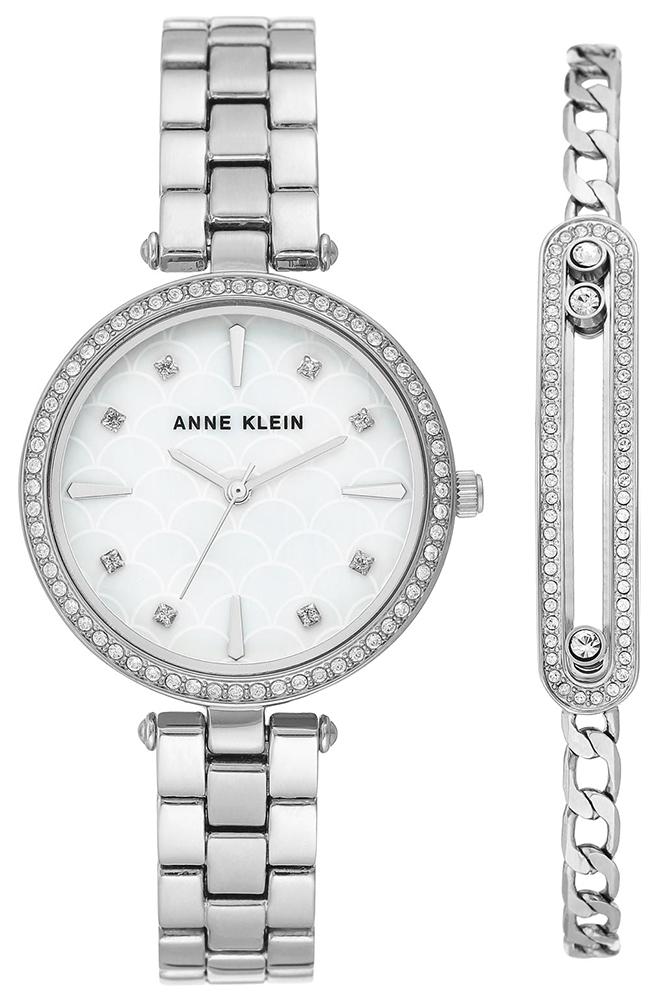 Anne Klein AK-3559SVST - zegarek damski