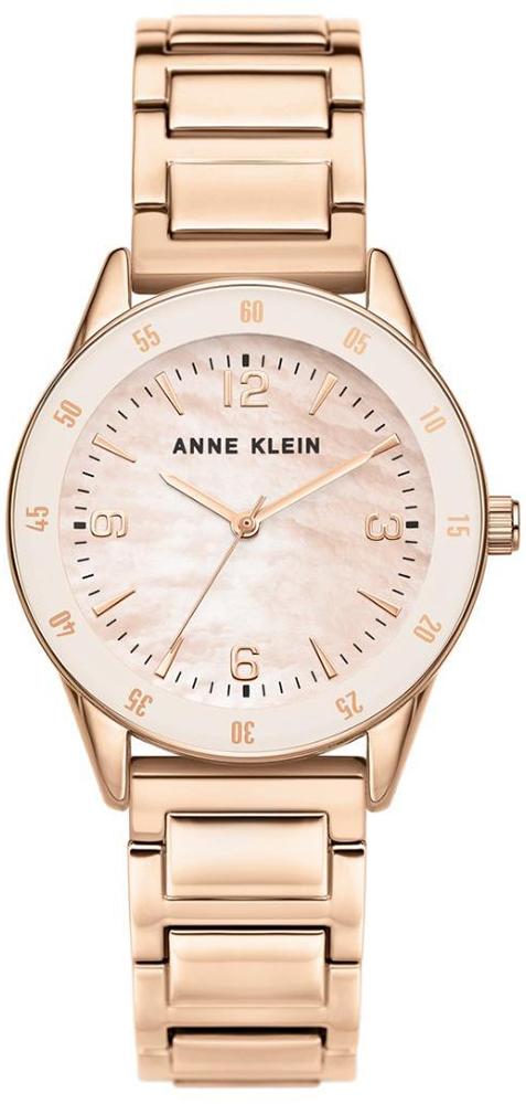Anne Klein AK-3602PMRG - zegarek damski