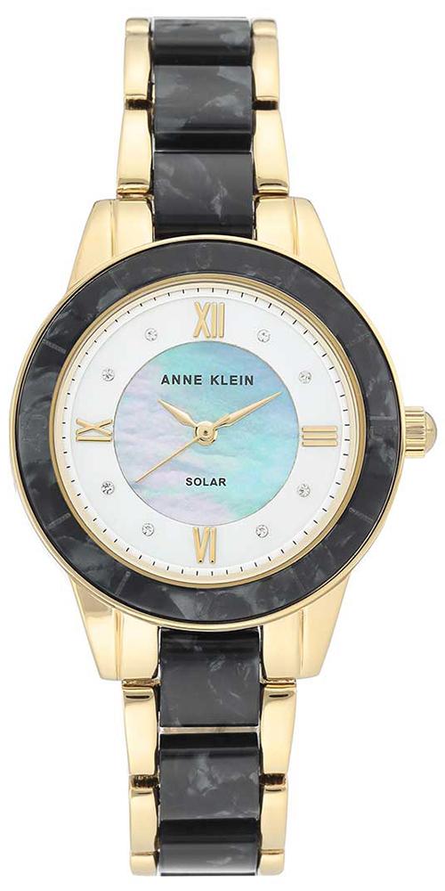 Anne Klein AK-3610GPBK - zegarek damski