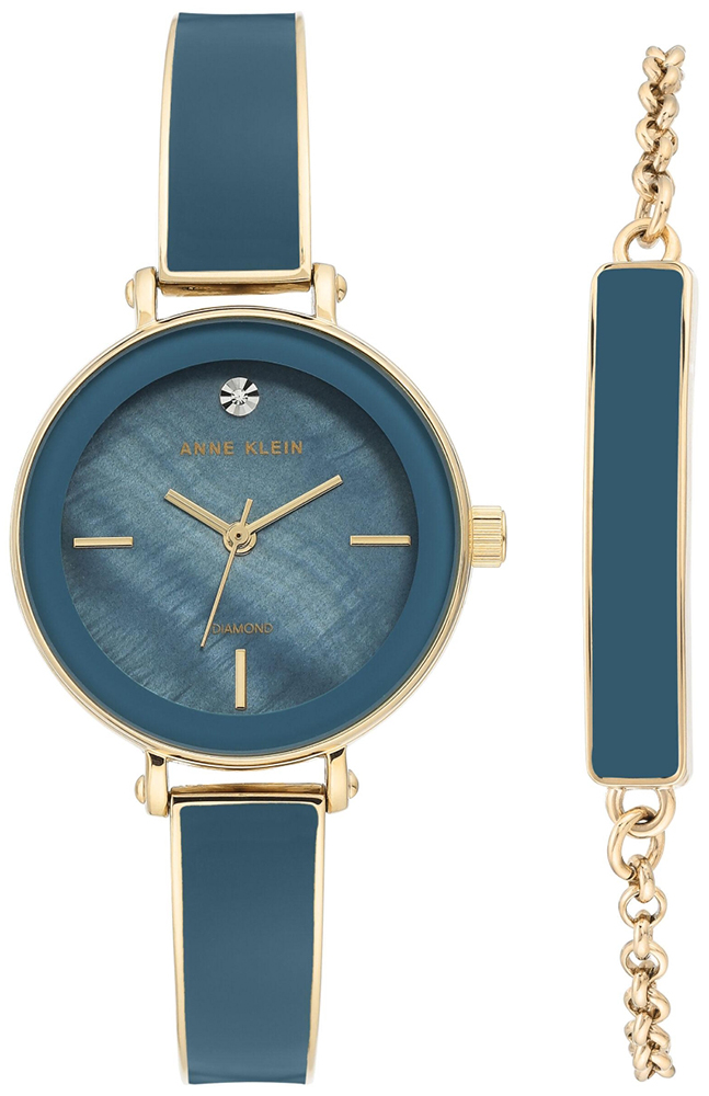 Anne Klein AK-3620BLST - zegarek damski
