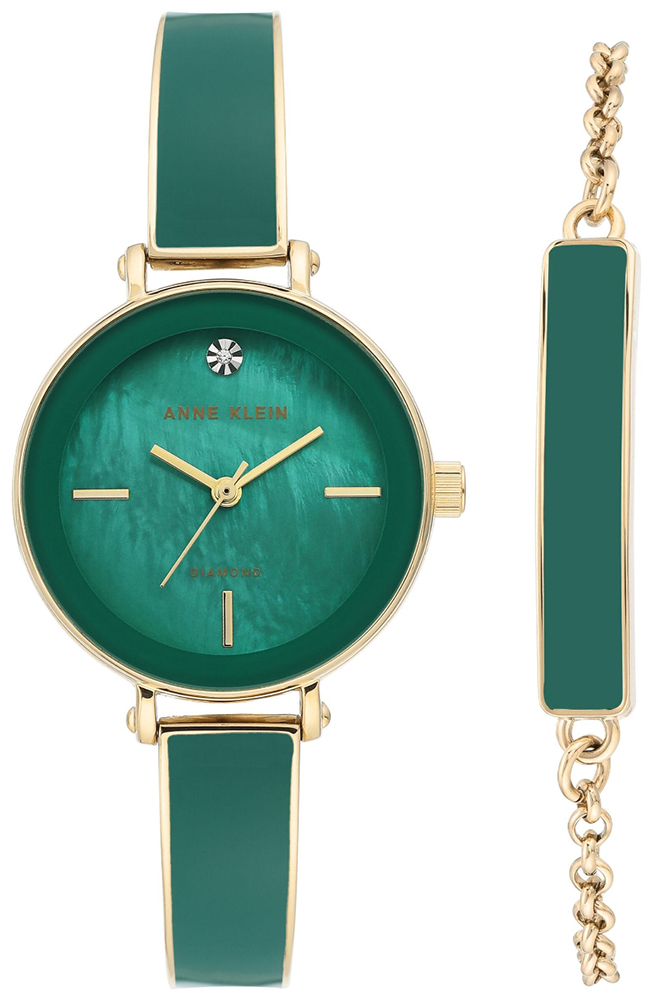 Anne Klein AK-3620GNST - zegarek damski