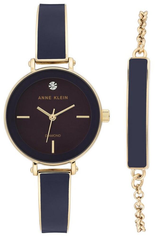 Anne Klein AK-3620PLST - zegarek damski
