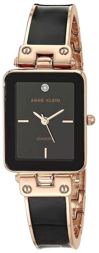 Anne Klein AK-3636BKRG - zegarek damski