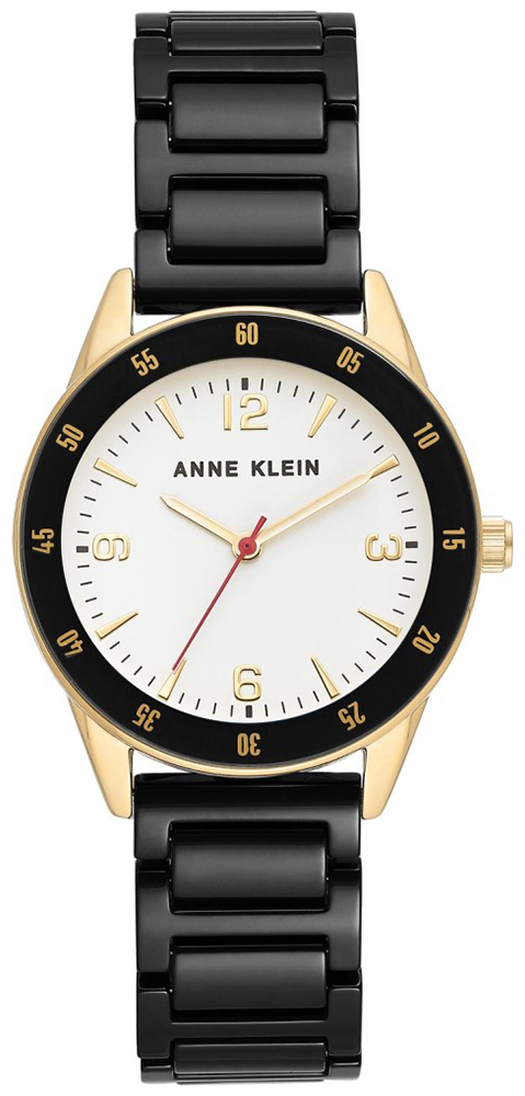 Anne Klein AK-3658GPBK - zegarek damski