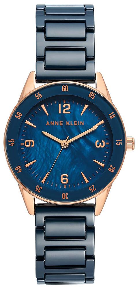 Anne Klein AK-3658RGDB - zegarek damski