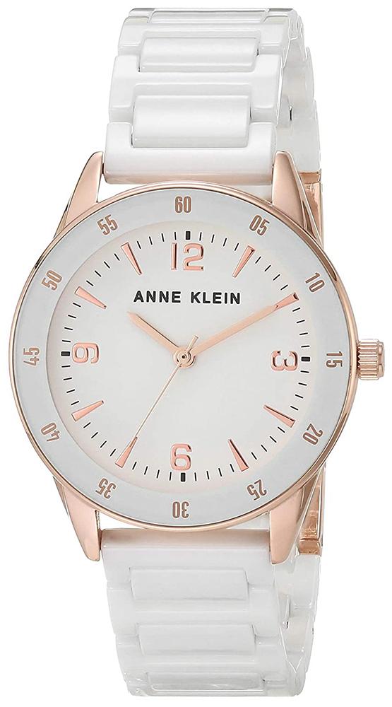 Anne Klein AK-3658RGWT - zegarek damski