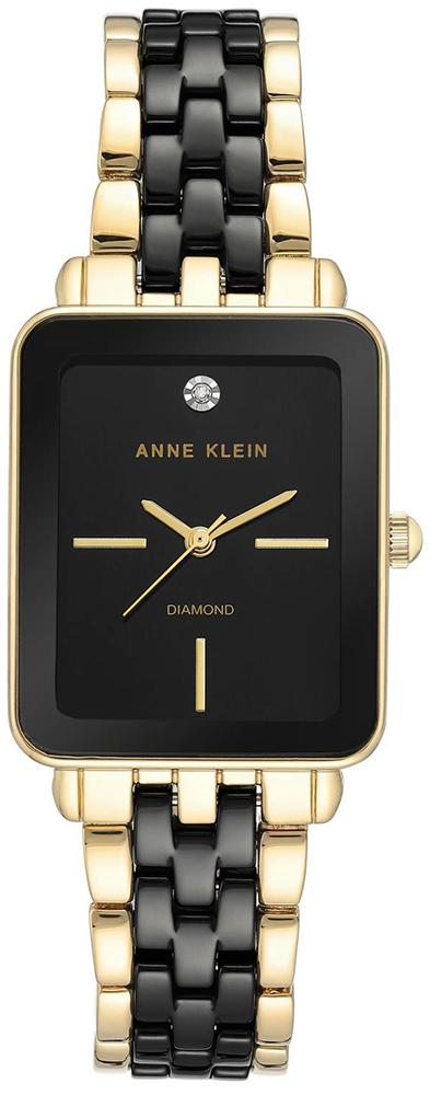 Anne Klein AK-3668BKGB - zegarek damski
