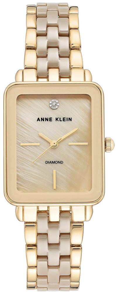 Anne Klein AK-3668TNGB - zegarek damski