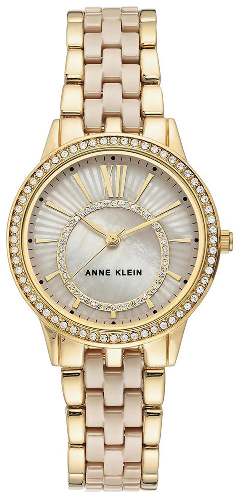 Anne Klein AK-3672TNGB - zegarek damski