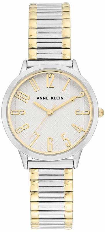 Anne Klein AK-3685SVTT - zegarek damski