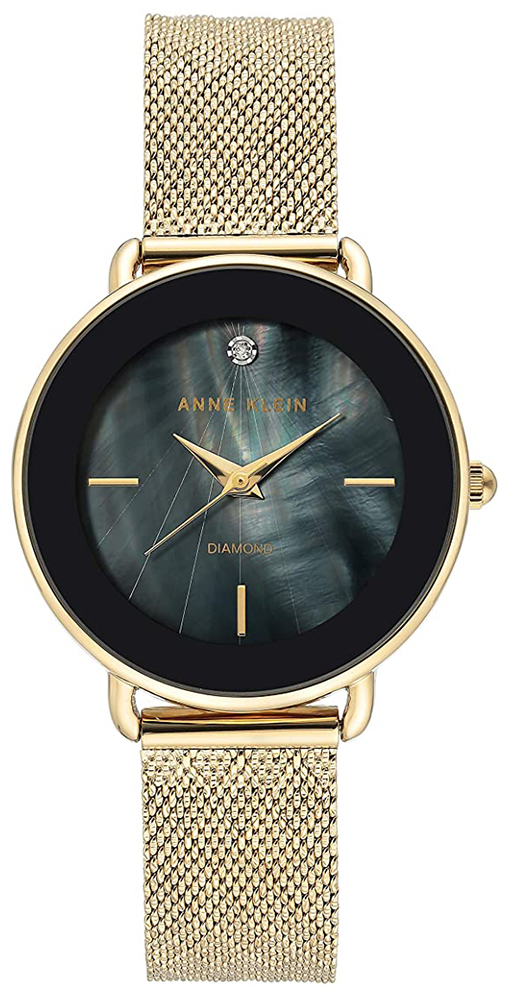 Anne Klein AK-3686BKGB - zegarek damski