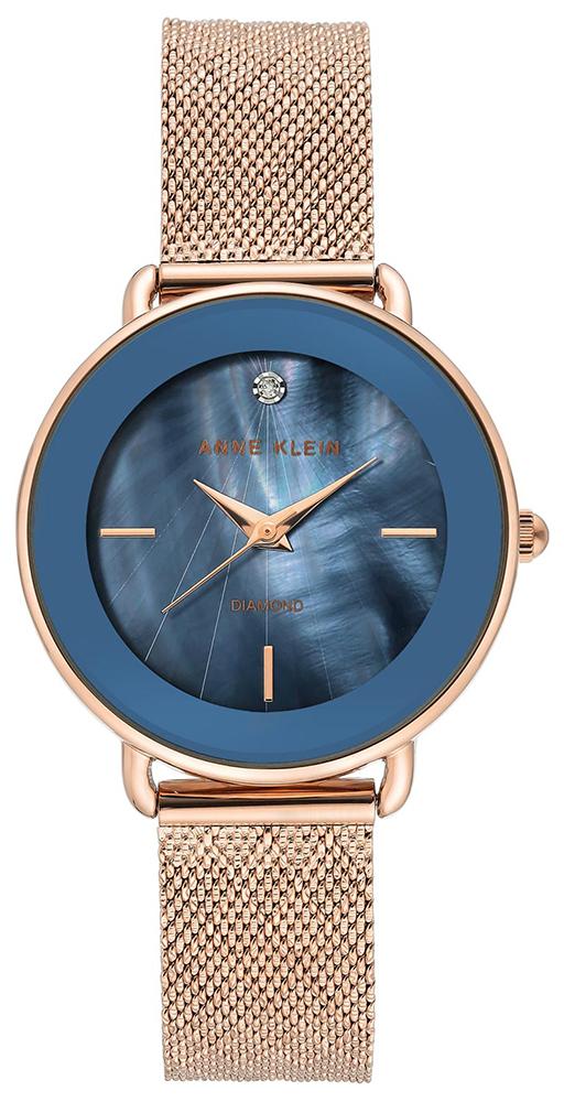 Anne Klein AK-3686NVRG - zegarek damski