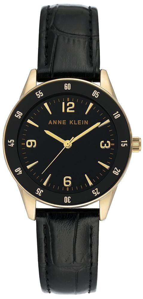 Anne Klein AK-3734BKBK - zegarek damski