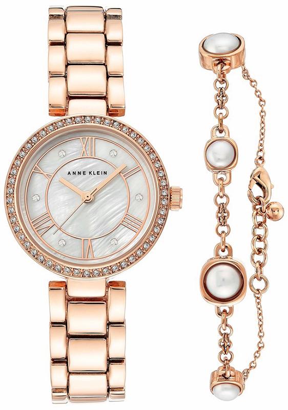 Anne Klein AK-3748RGST - zegarek damski