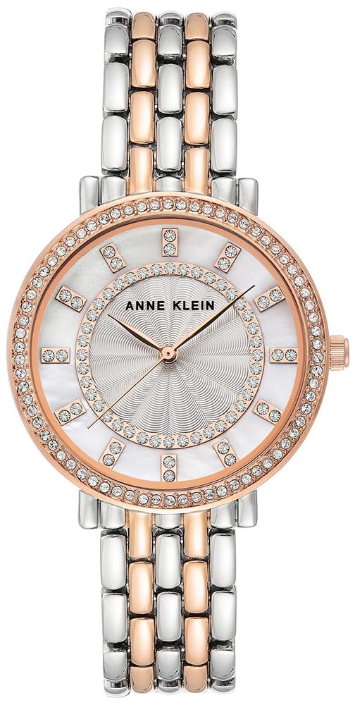 Anne Klein AK-3799MPRT - zegarek damski