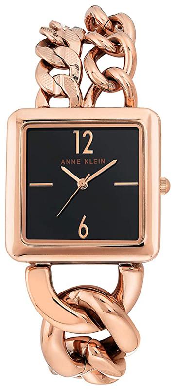 Anne Klein AK-3804BKRG - zegarek damski