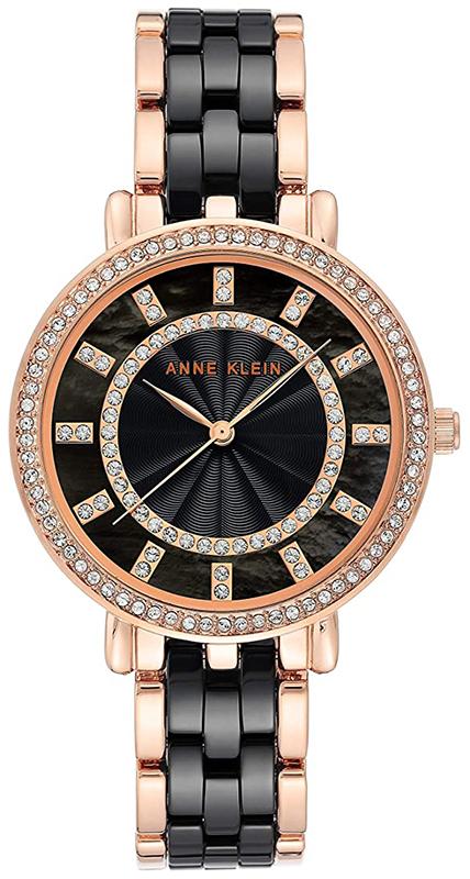 Anne Klein AK-3810BKRG - zegarek damski