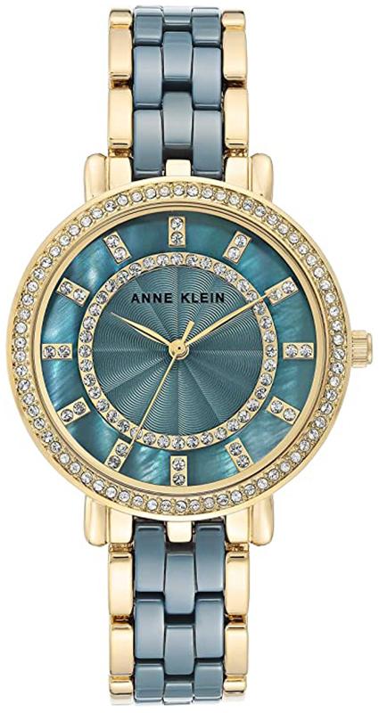 Anne Klein AK-3810BLGB - zegarek damski
