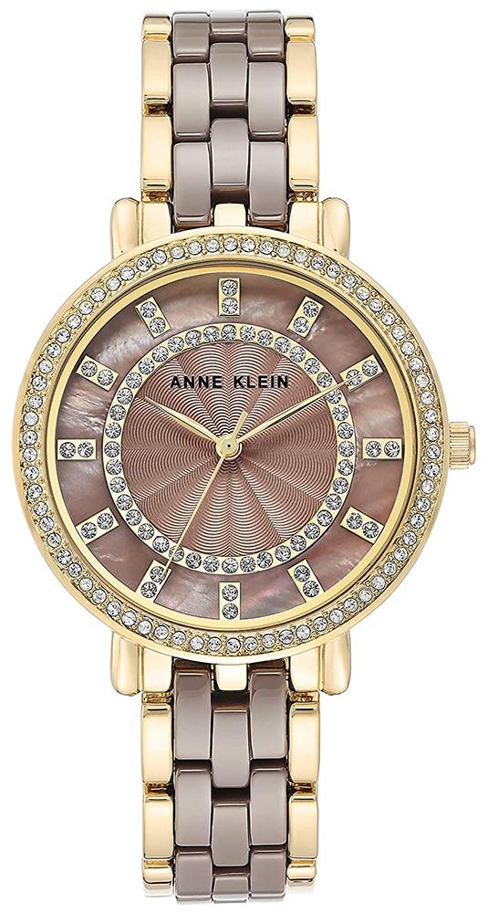 Anne Klein AK-3810DTGB - zegarek damski