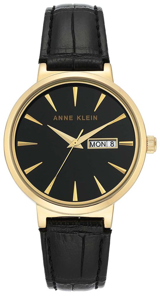 Anne Klein AK-3824BKBK - zegarek damski