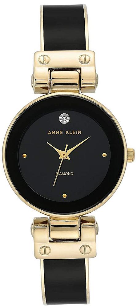 Anne Klein AK-3832BKGB - zegarek damski