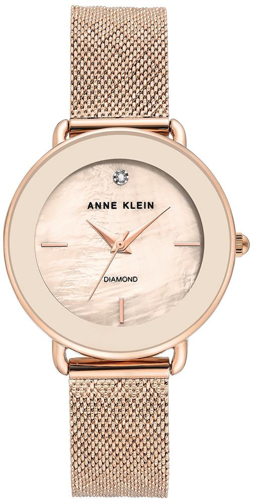 Anne Klein AK-3686PMRG - zegarek damski