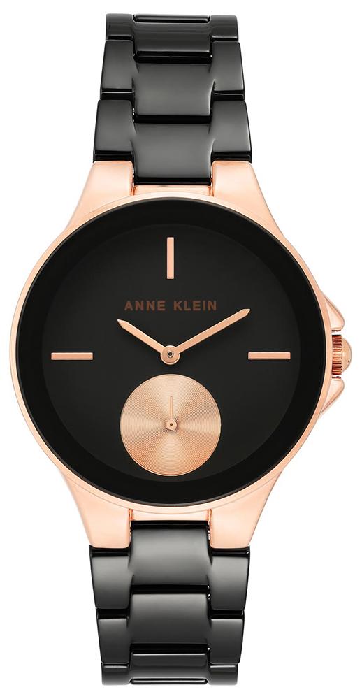 Anne Klein AK-3808BKRG - zegarek damski