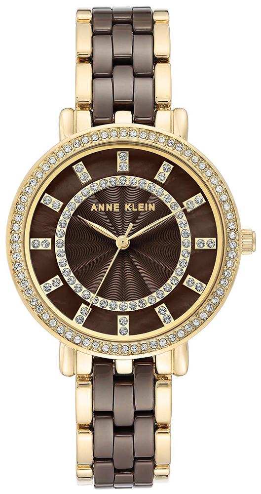 Anne Klein AK-3810BNGB - zegarek damski